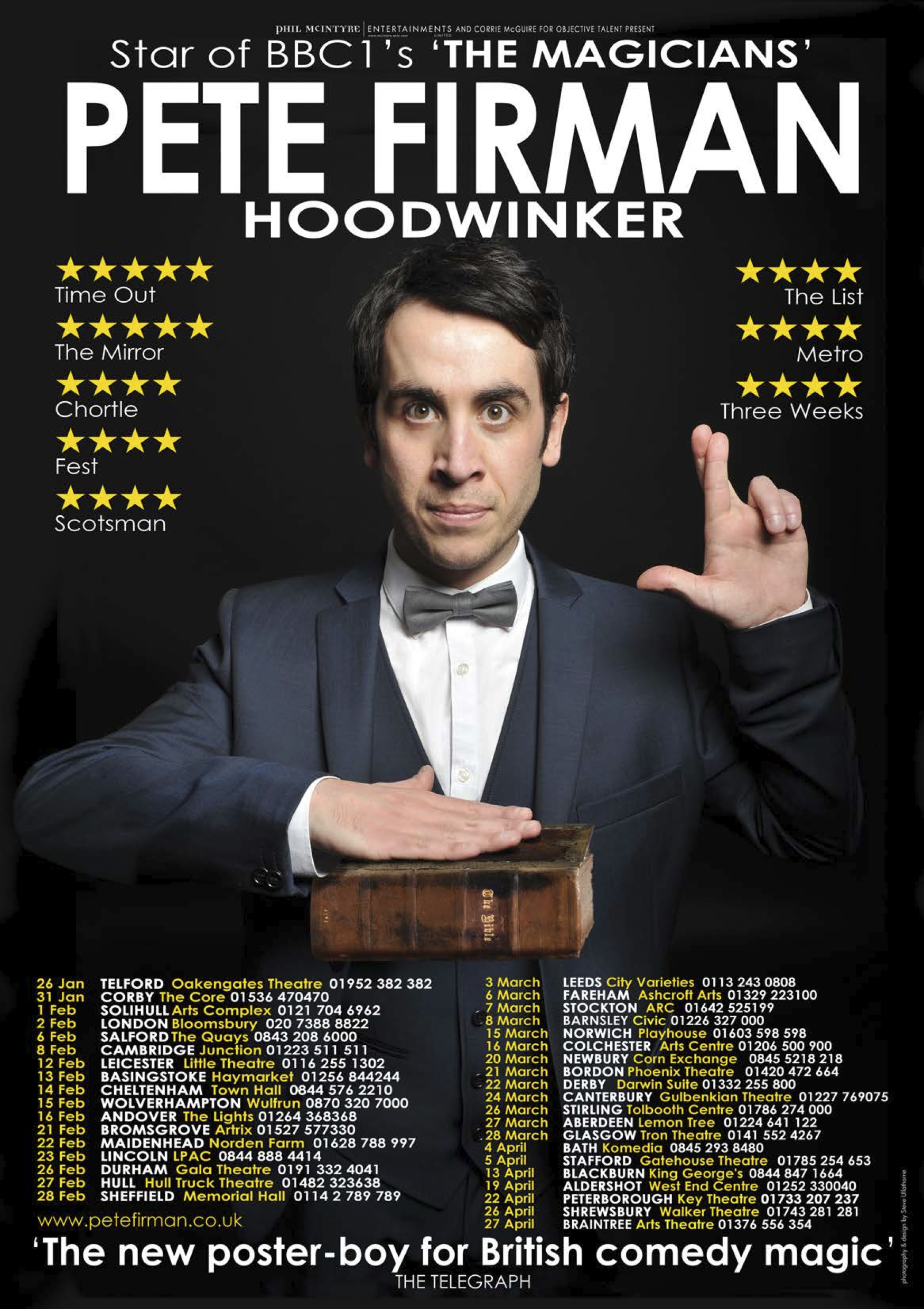 pete firman tour 20132